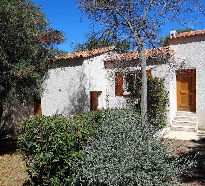villa à 100m de la plage avec vue sur la mer en location dans la résidence de Sant ambroggio