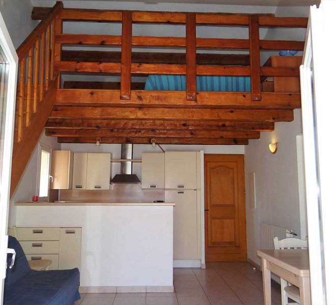 Studio à louer en Haute Corse dans la résidence de vacances Sant ambroggio