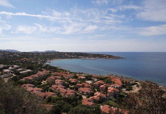 résidence Sant ambroggio vue sur mer en haute corse entre calvi et ile rousse
